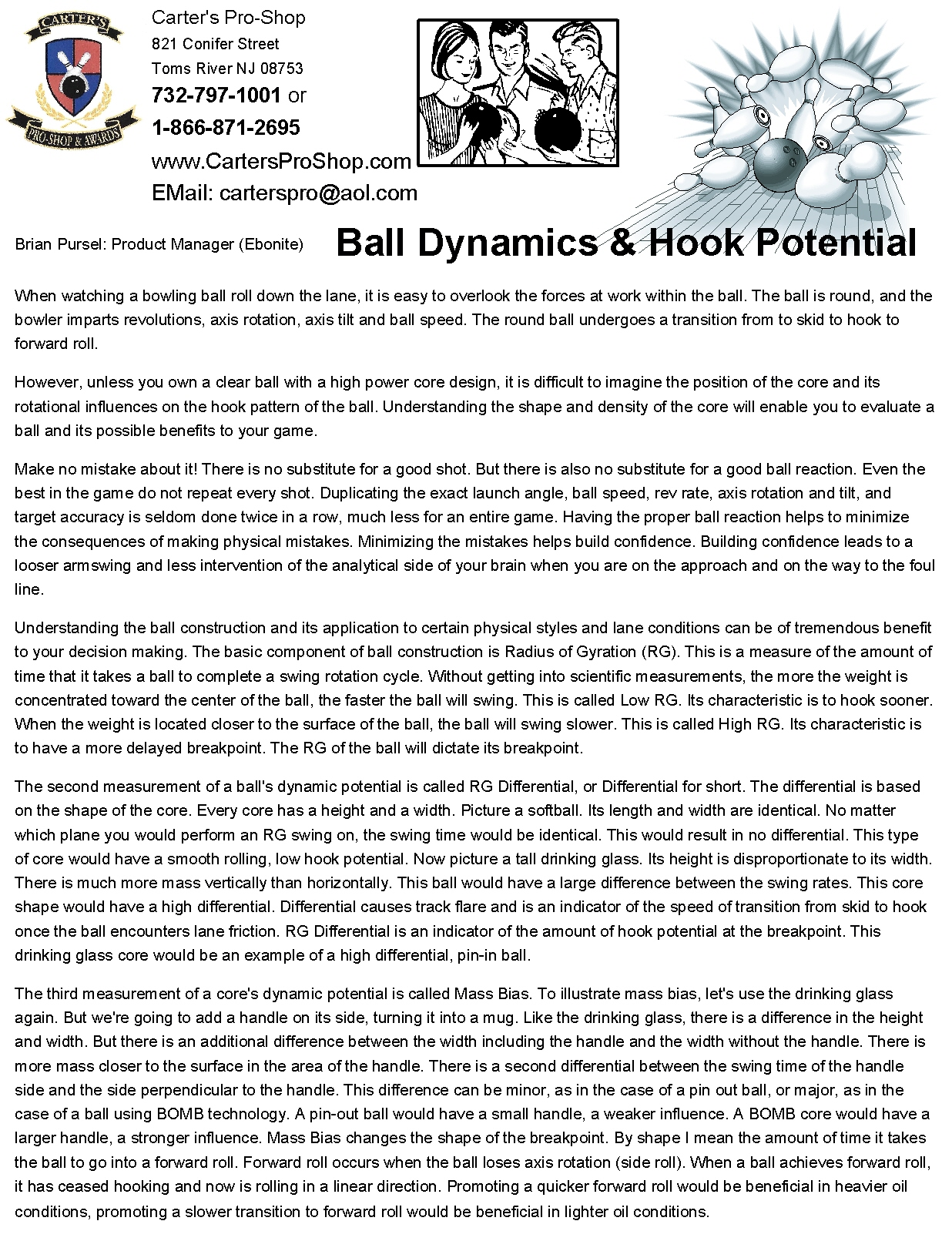 Ball Dynamics Hook Potential